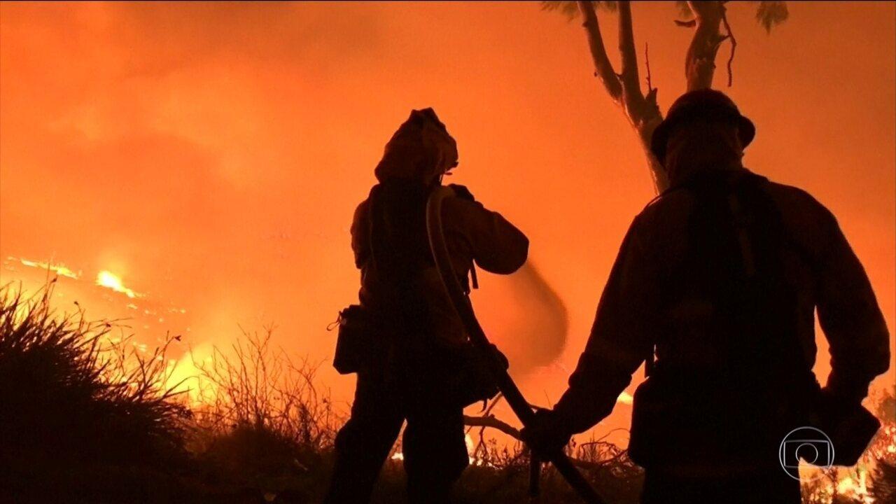Confirmada a primeira morte pelo incêndio da Califórnia
