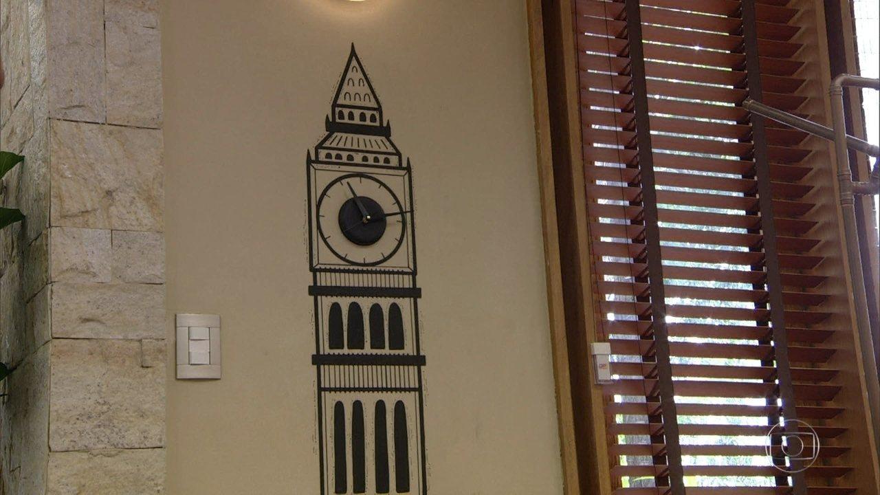 De casa aprenda a fazer rel gios de parede estilosos - Programa para amueblar casa ...