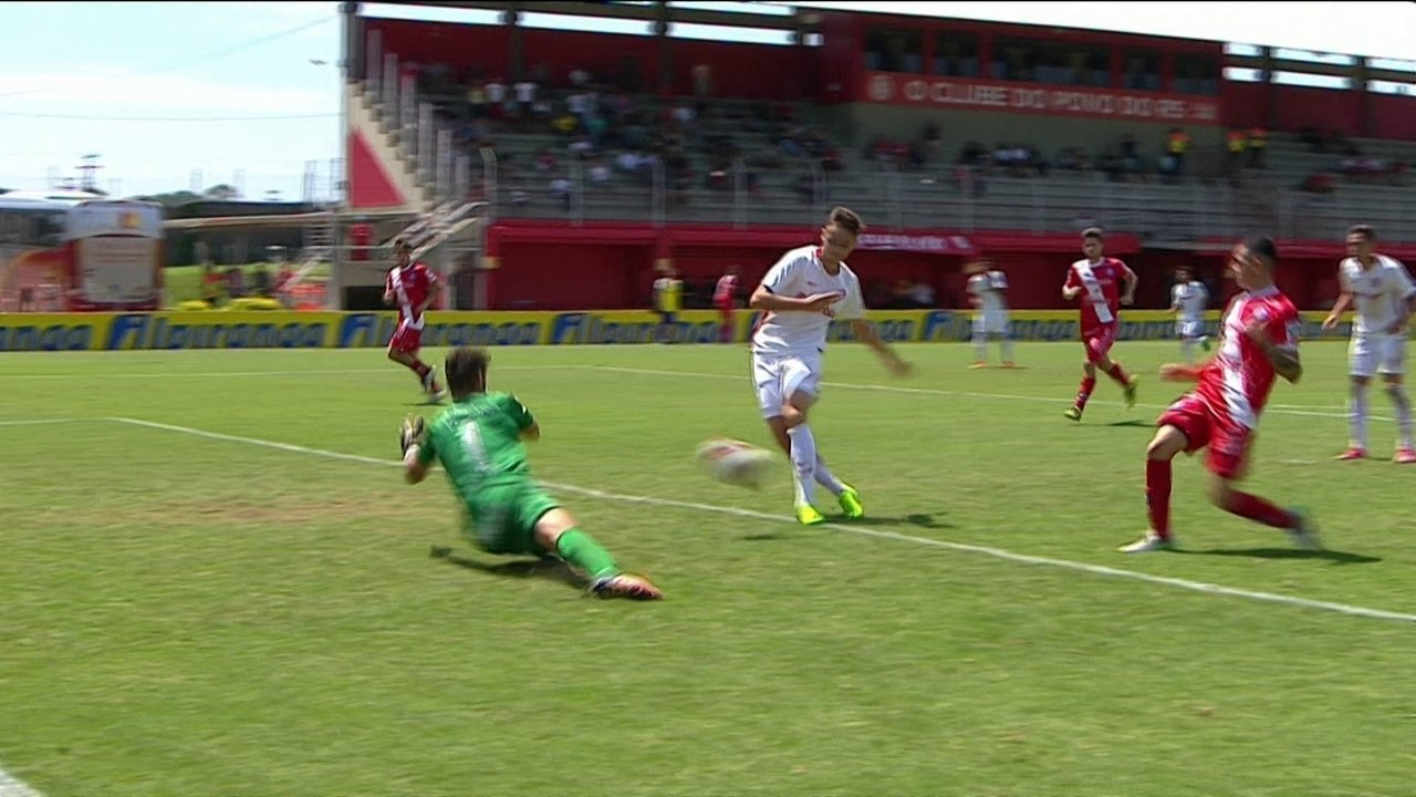 Os gols de Argentinos Juniors 1 x 6 Internacional pela Copa RS de futebol sub-20