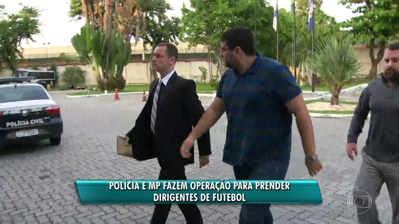 Presos no Rio assessor do Flu e presidente de organizada do Fla