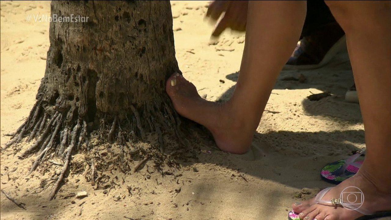Fascite plantar provoca dor na sola dos pés mesmo após horas de descanso
