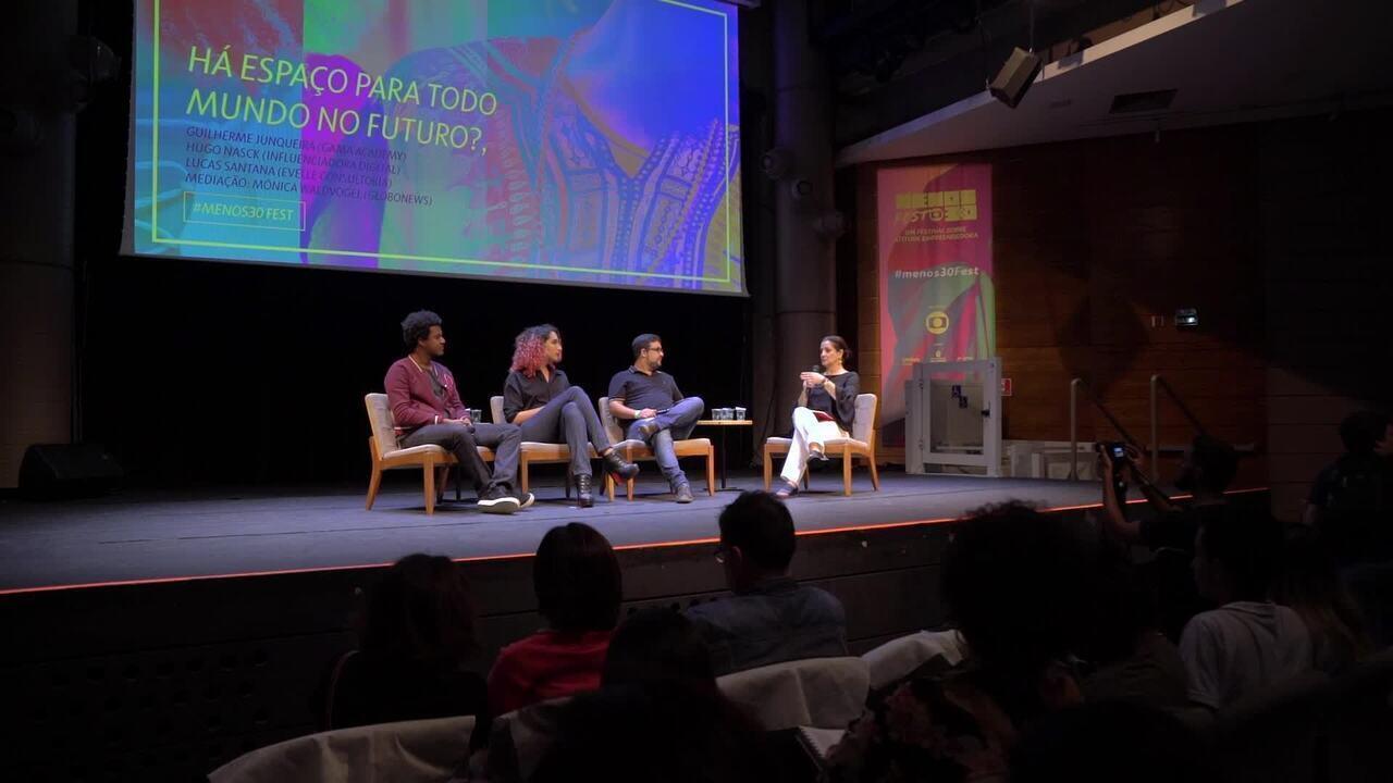 Menos30 Fest reúne empreendedores em São Paulo