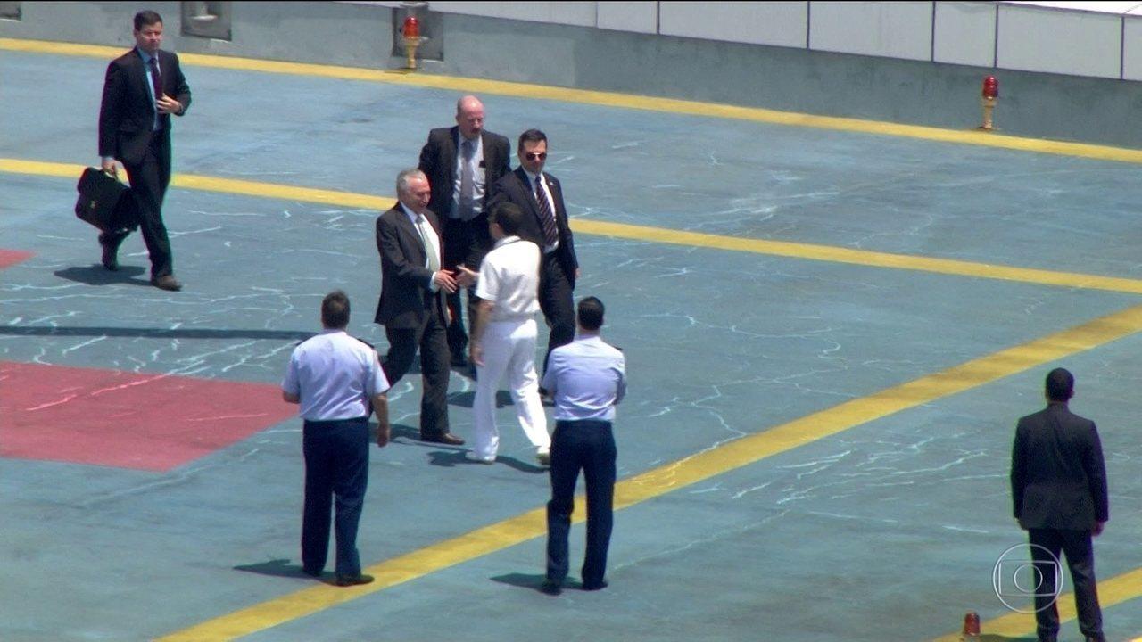 Presidente Temer passa por novo procedimento médico em São Paulo