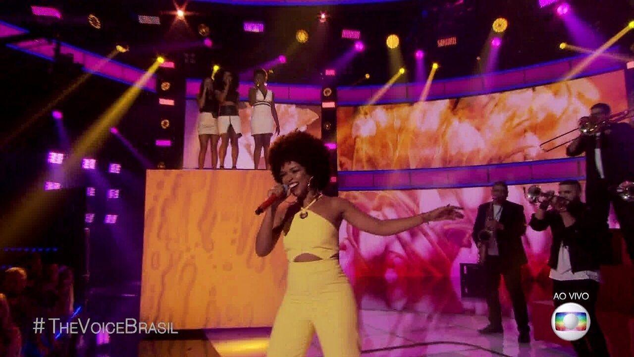 Gab Ferreira cantou 'Por Causa de Você Menina'