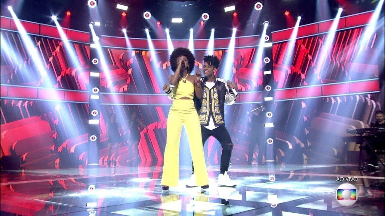 Gab Ferreira e Vinicius D'Black cantaram juntos 'Meia Lua Inteira'