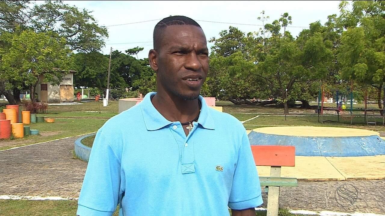 Ídolo no Confiança, ex-jogador Geraldo está em Aracaju e fala sobre nova profissão