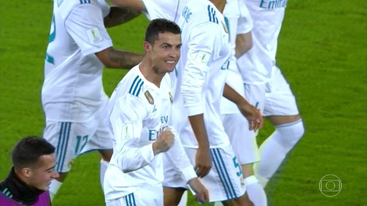 O gol de Real Madrid 1 x 0 Grêmio na final do Mundial de clubes da Fifa