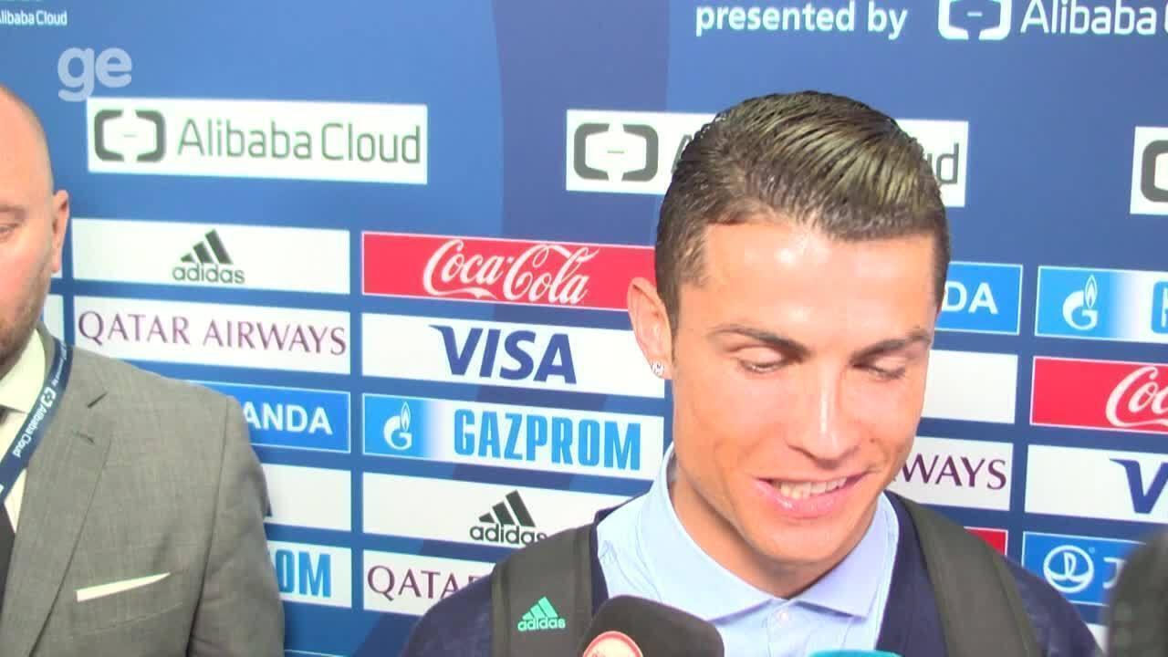 Cristiano Ronaldo ironiza comparação de Renato: