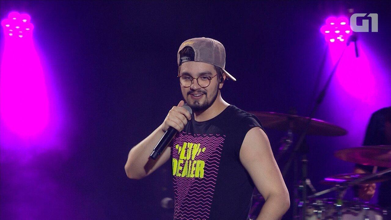 Festival de Verão: Luan Santana canta 'Check In' na Arena Fonte Nova