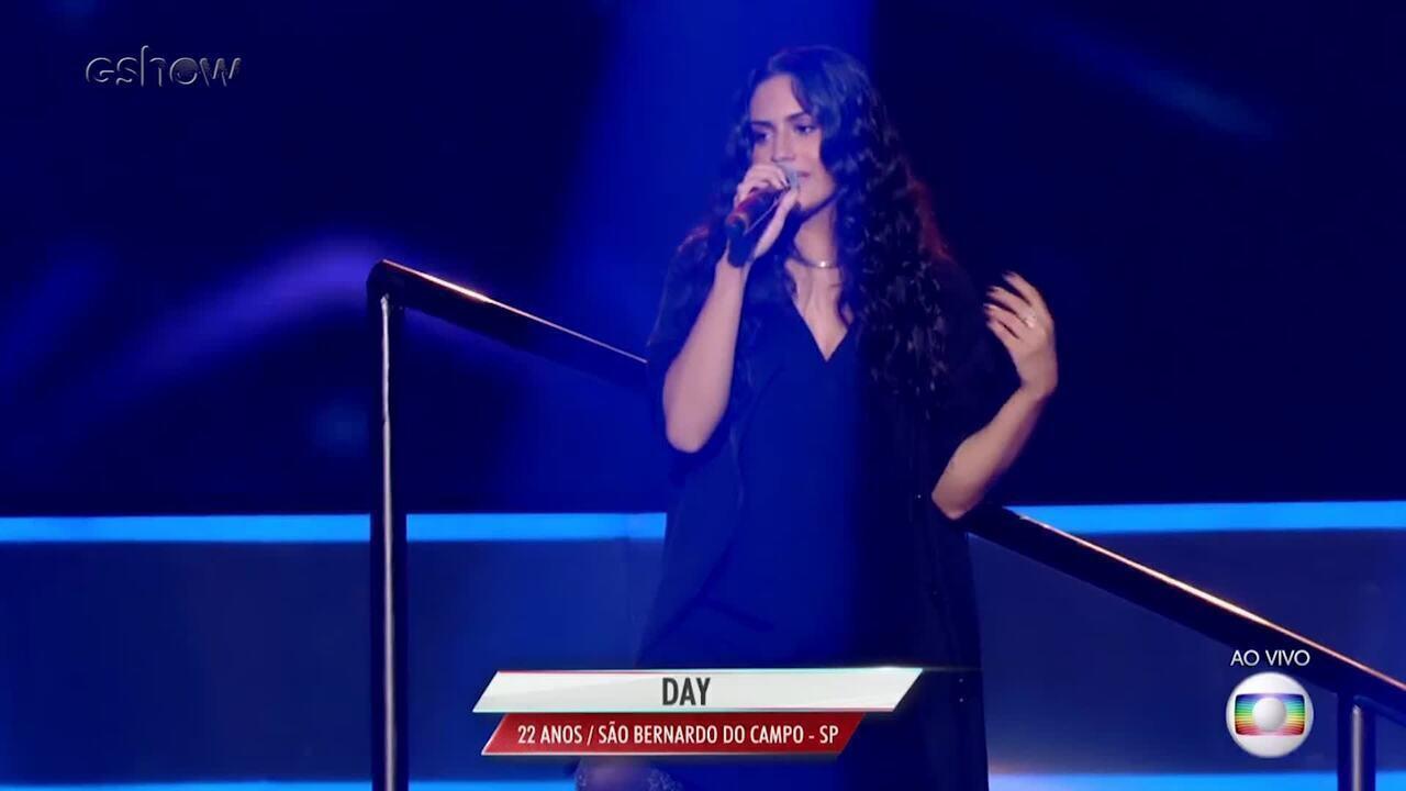Confira a trajetória de Day no The Voice Brasil