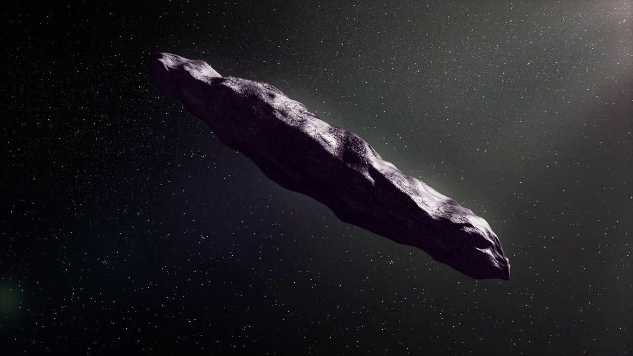 Cientistas estudam Oumuamua, o misterioso asteroide interestelar