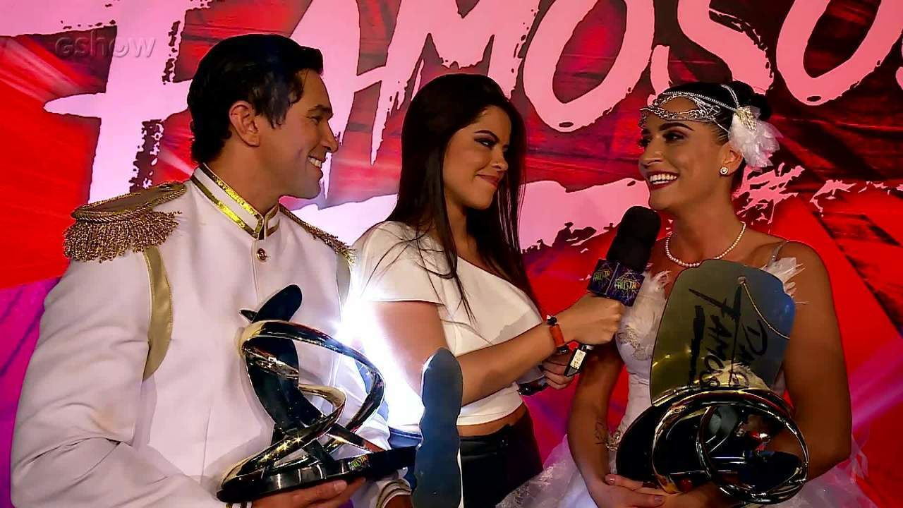 Maria Joana comemora vitória no 'Dança dos Famosos'