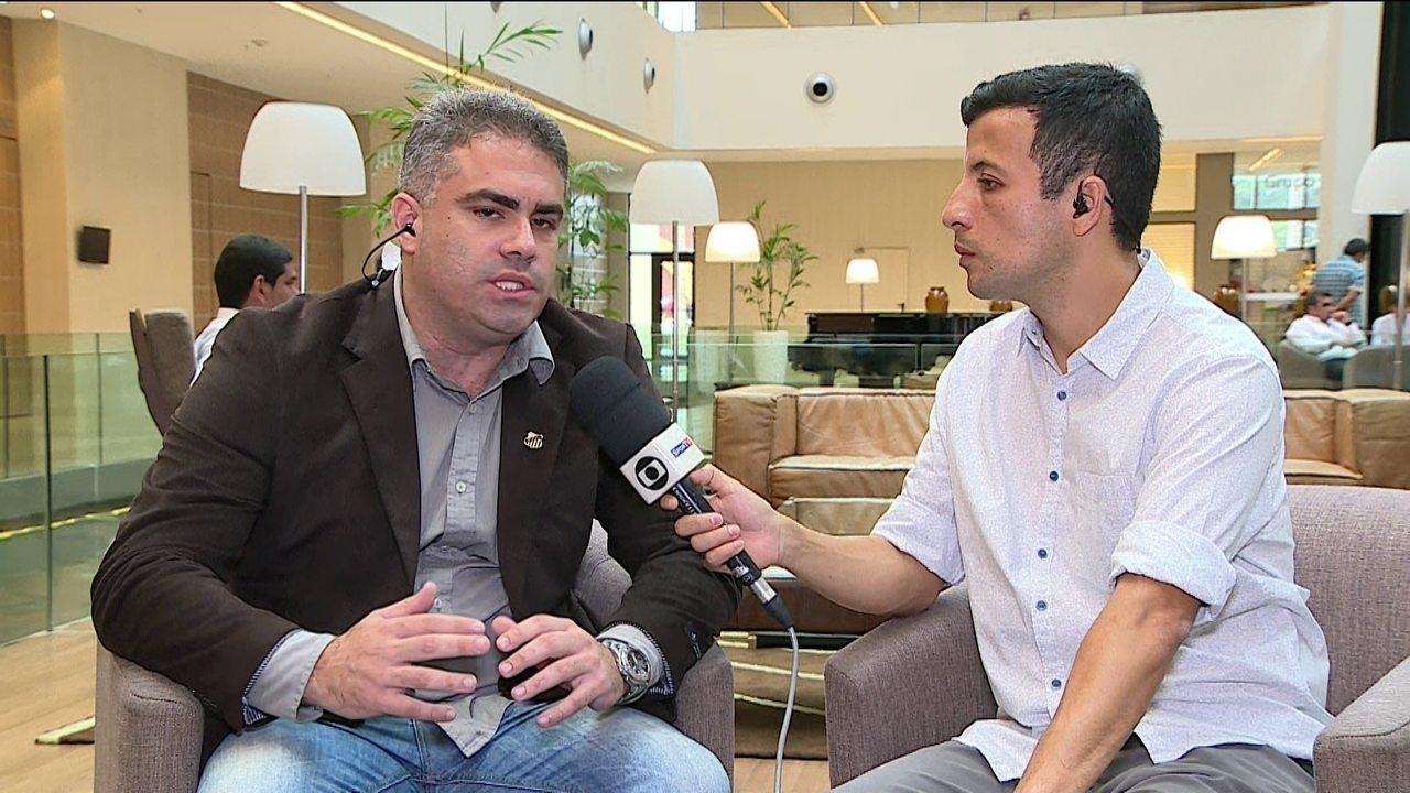 Vice-presidente do Santos admite que Gabigol está em conversa para voltar ao clube