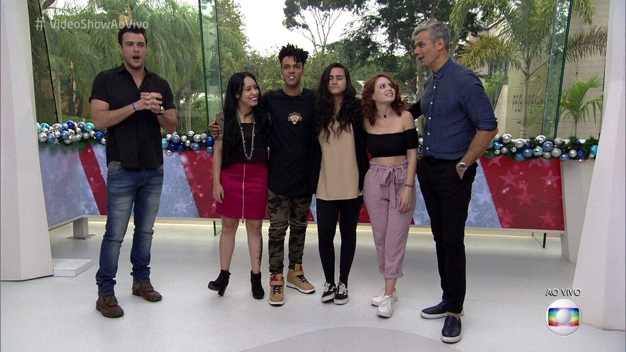 Finalistas do 'The Voice Brasil' falam sobre as expectativas para o show desta quinta