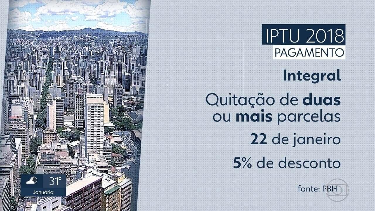 Carnês do IPTU 2018 já estão disponíveis pela internet