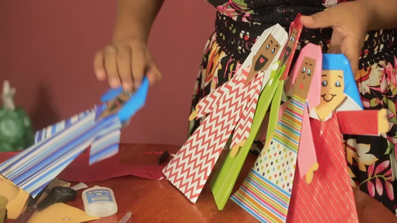 Presépio de Natal: Saiba como fazer bonecos de papelão para montar uma decoração econômica
