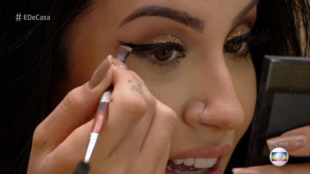 Bianca Andrade ensina a fazer maquiagem de festa sem gastar muito