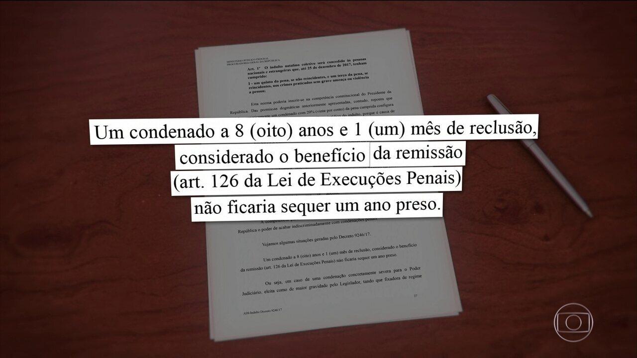 Raquel Dodge entra com ação no STF contra decreto de indulto de Natal de Temer
