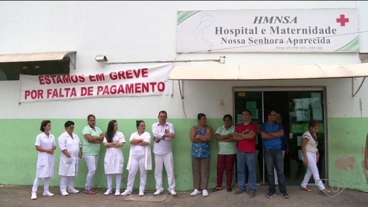 Funcionários do hospital de Montanha estão em greve há quase uma semana