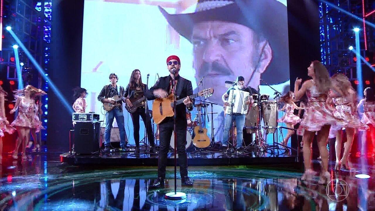 Nando Cordel canta 'Isso Aqui Tá Bom Demais'