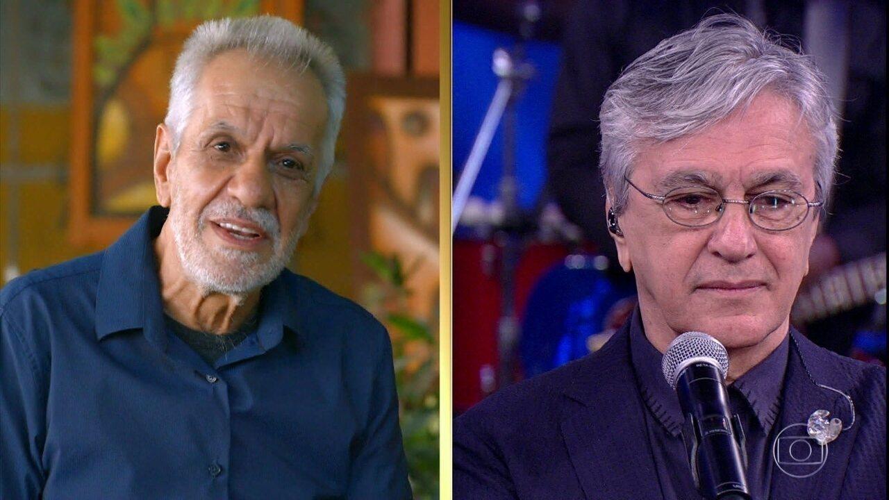 Perfeito Fortuna relembra momentos difíceis na prisão com Caetano Veloso