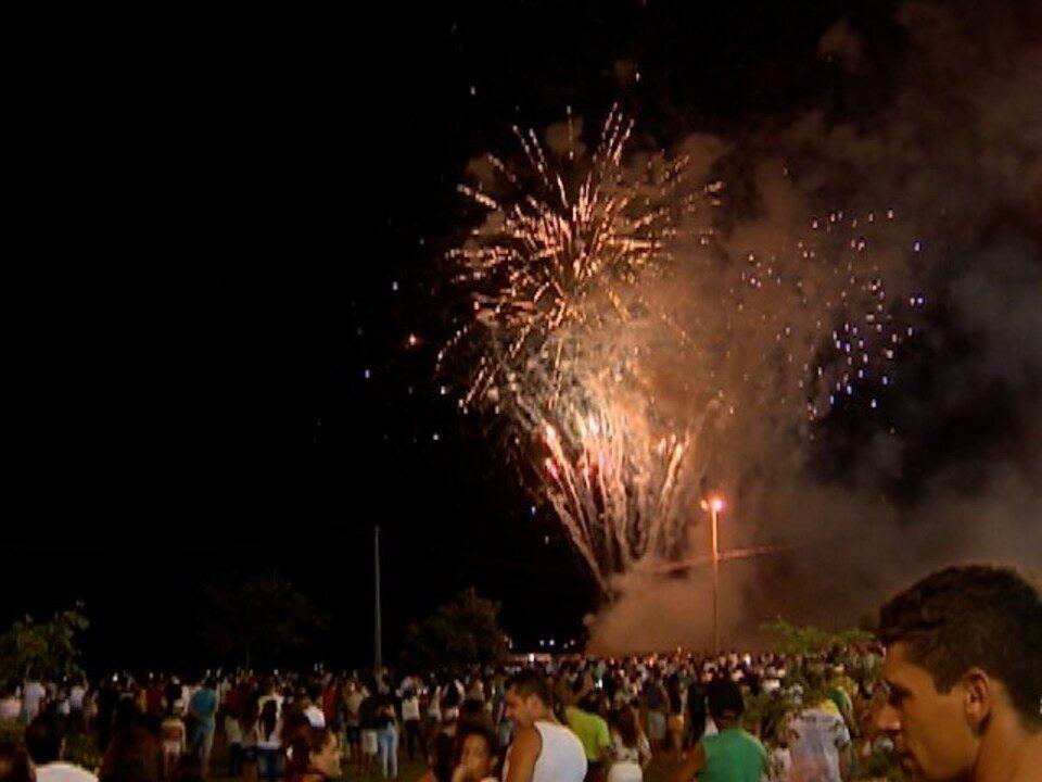 Virada do ano em Presidente Epitácio conta com queima de fogos de 15 minutos