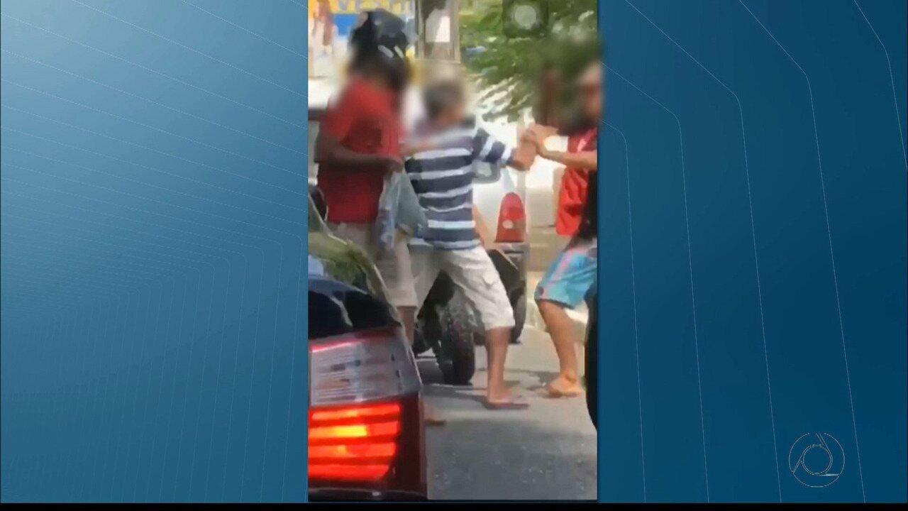 Homem reage com capacete a assalto e tem moto roubada em João Pessoa