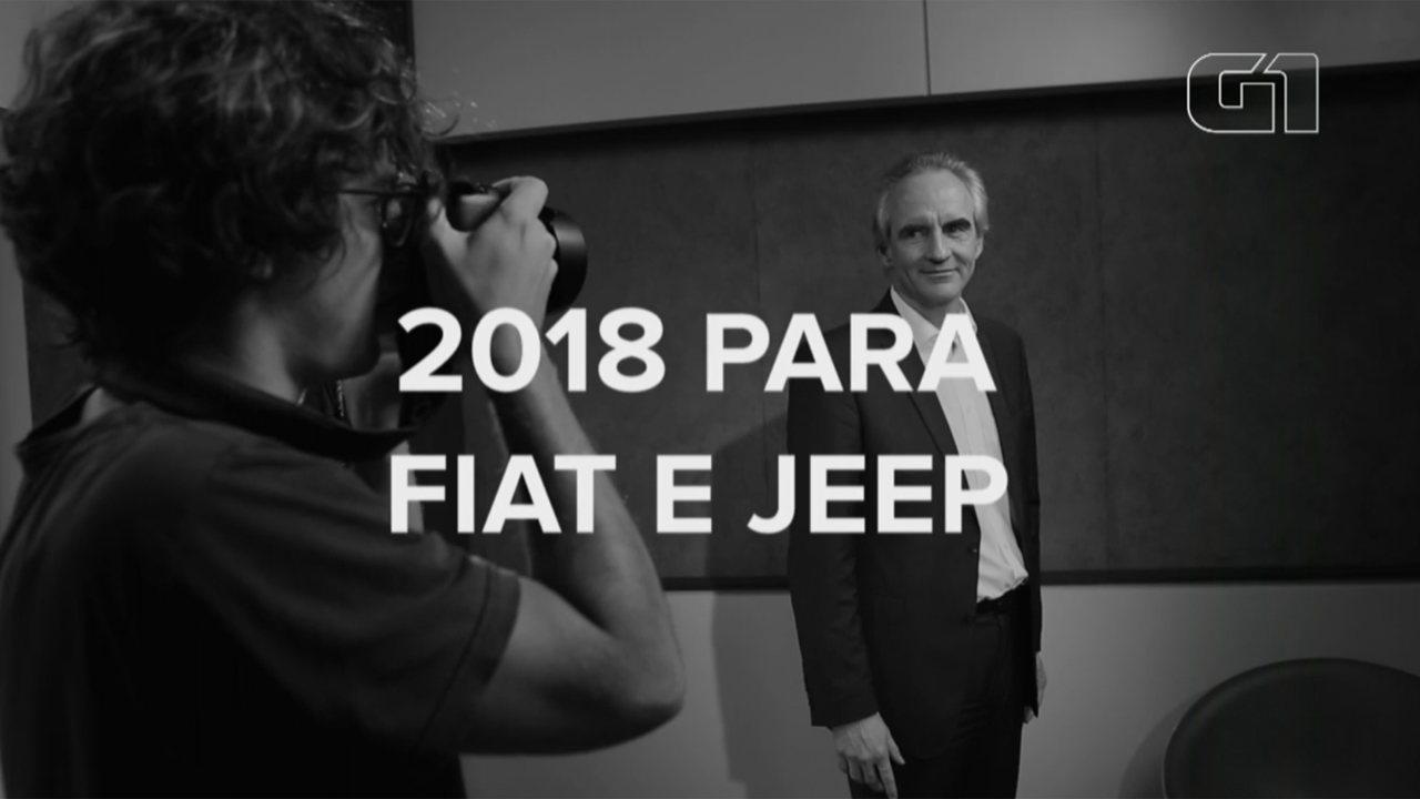 Presidente da Fiat fala sobre planos da marca para 2018