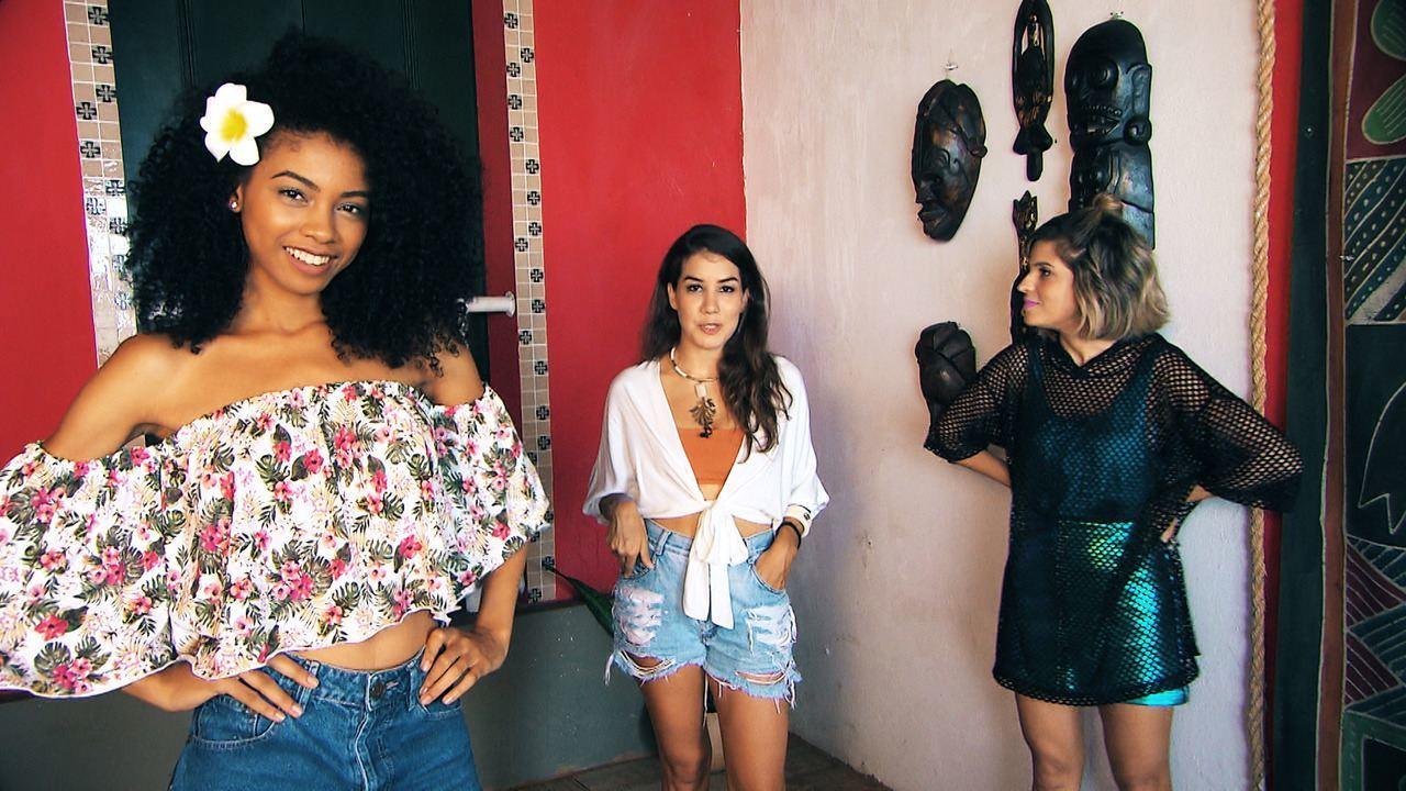 Veja sugestões de looks para as festas de verão da designer de moda Paula Quintella