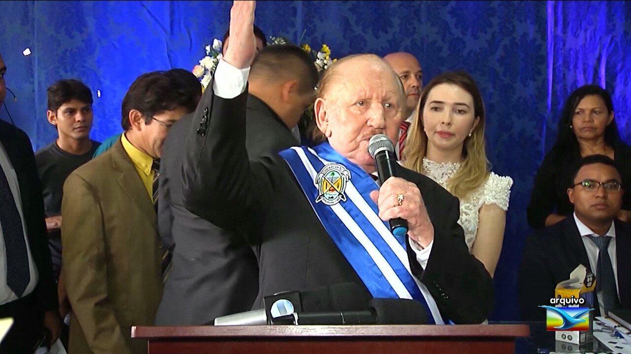 Zé Vieira é afastado do cargo de prefeito de Bacabal.