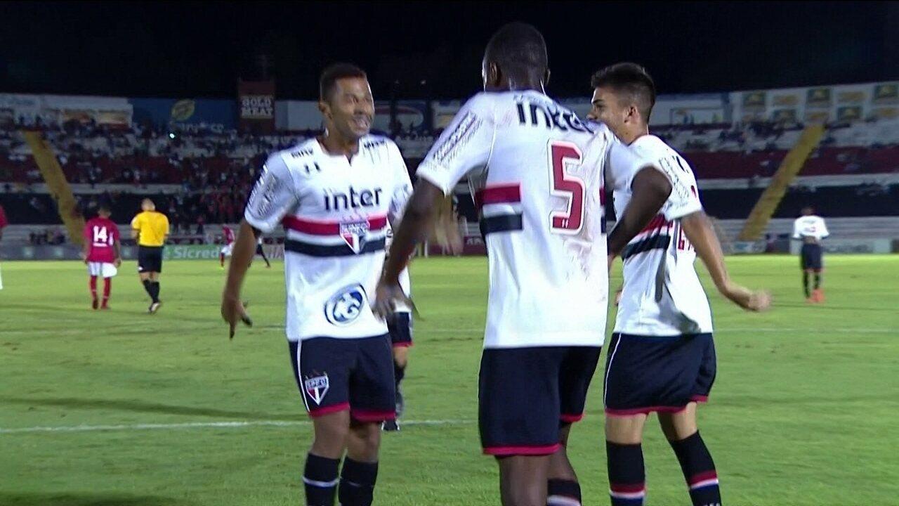Os gols de Sergipe 1 x 3 São Paulo pela Copa São Paulo de Futebol Júnior