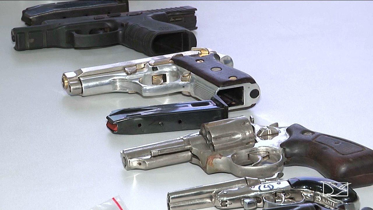 Polícia Militar revela quantidade de armas apreendidas em Imperatriz