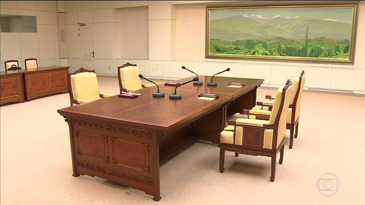 Encontro entre representantes das Coreias era expectativa