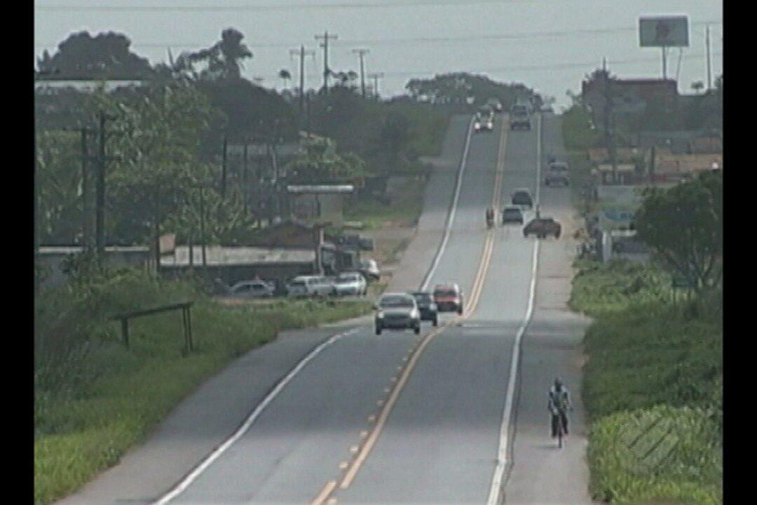 Motoristas reclamam da falta de segurança na rodovia entre Castanhal e Santa Maria do Pará