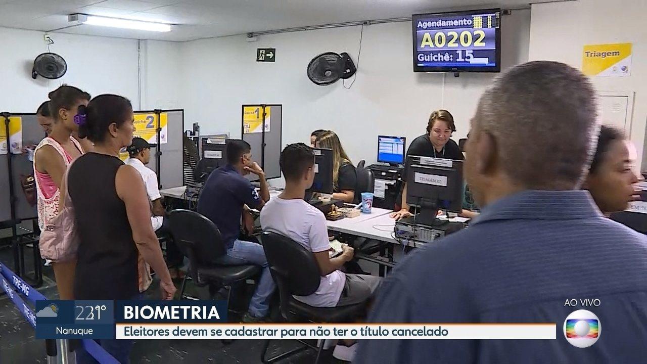 Eleitores de 4 cidades mineiras devem fazer o cadastramento biométrico