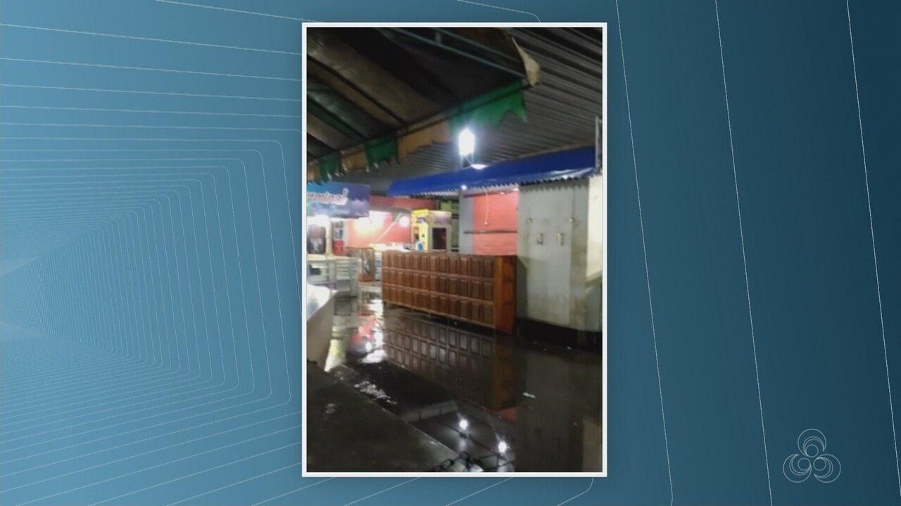 Video mostra goteiras no Terminal Rodoviário de Macapá