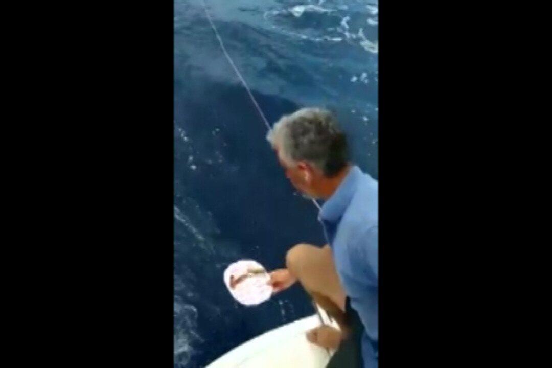 Tripulação lança mensagem dentro de garrafa no oceano Atlântico