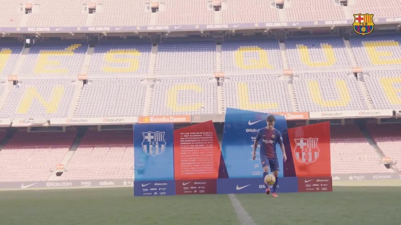 Barcelona mostra os bastidores da chegada de Philippe Coutinho ao clube catalão