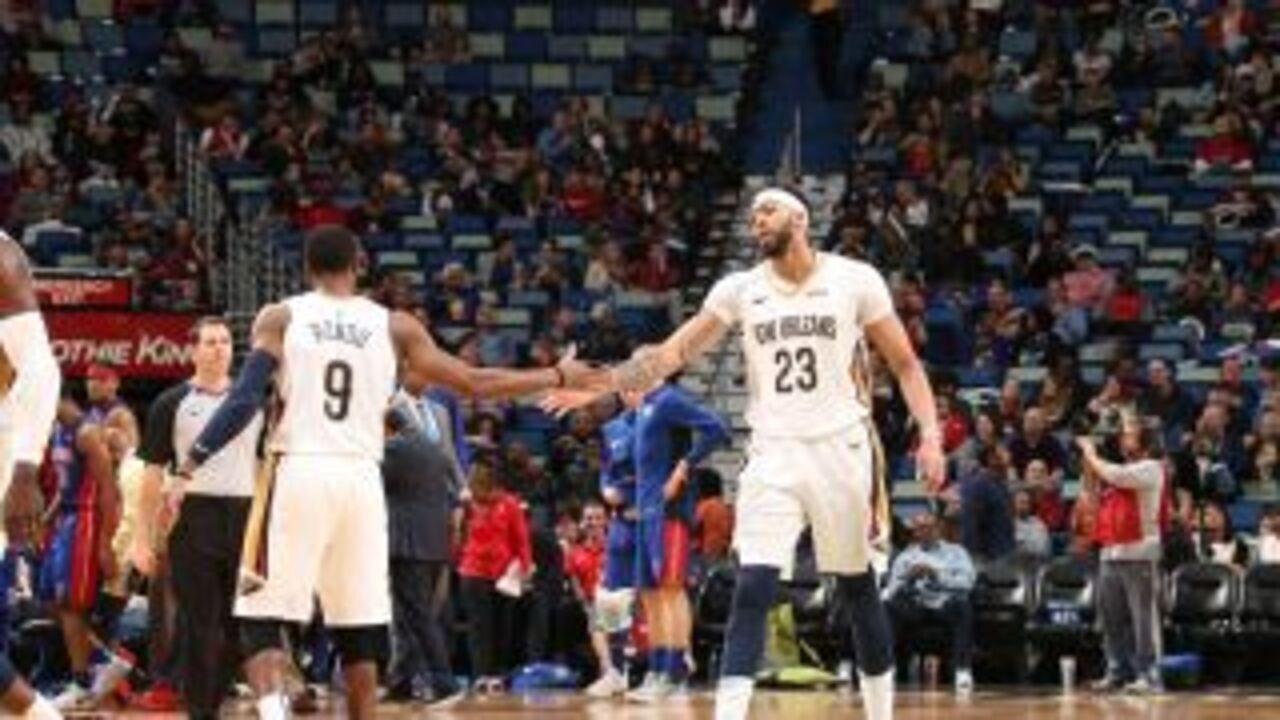 Melhores momentos: Detroit Pistons 109 x 112 New Orleans Pelicans pela NBA