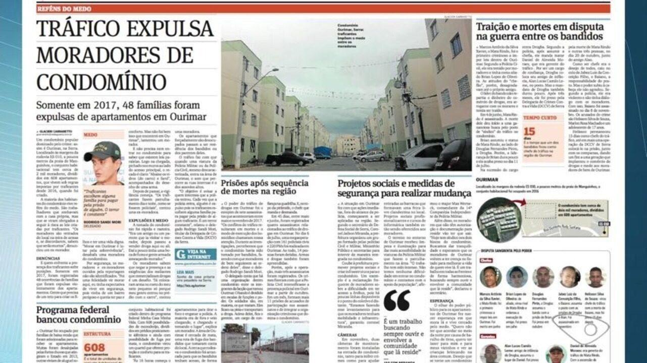 Traficantes expulsam 48 famílias de condomínio popular na Serra, ES
