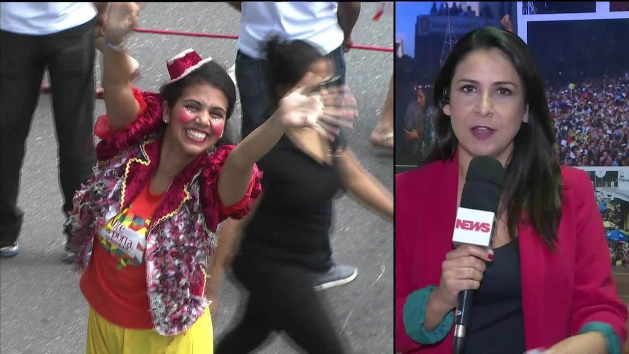 Prefeitura de SP estima que 4 milhões foliões participem do carnaval de rua em 510 blocos