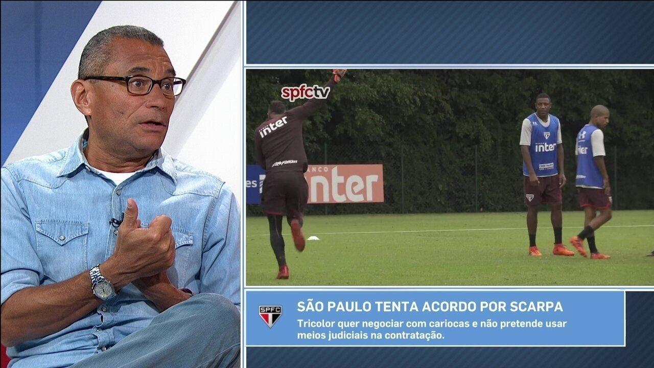 Para PC Vasconcellos, São Paulo esgotou paciência om Cueva: