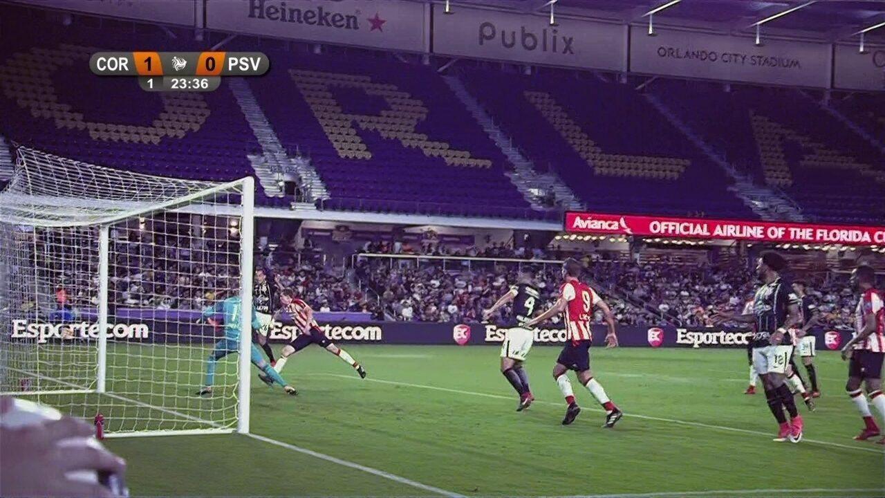 Melhores momentos de Corinthians (5) 1 x 1 (4) PSV pela 1ª rodada do Torneio da Flórida