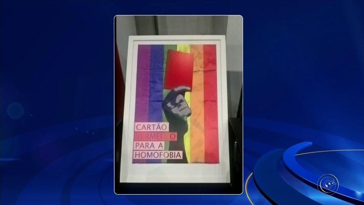 Adiamento de exposições sobre homofobia causa polêmica em Botucatu