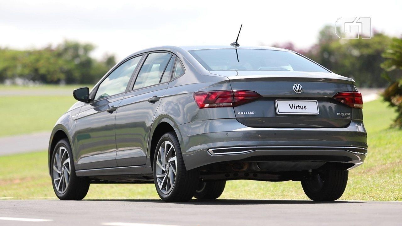 Volkswagem Virtus é o primeiro lançamento de 2018 da montadora
