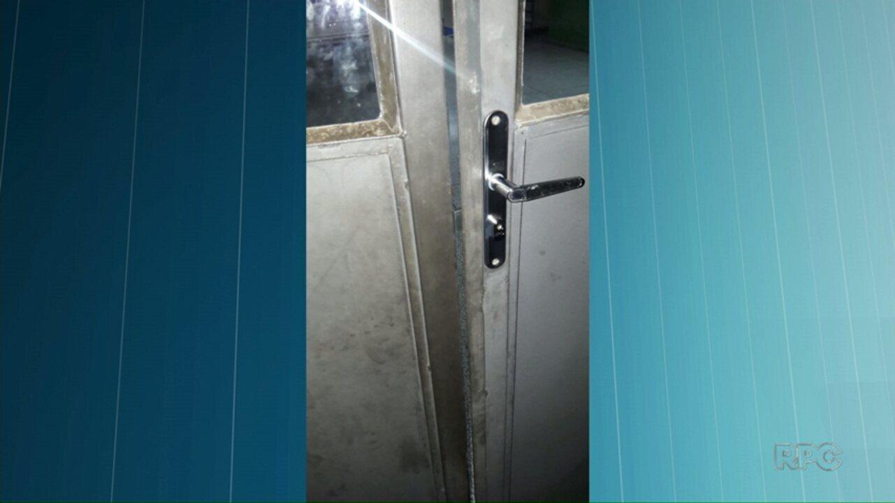 Homem arromba escola em Ponta Grossa e é detido
