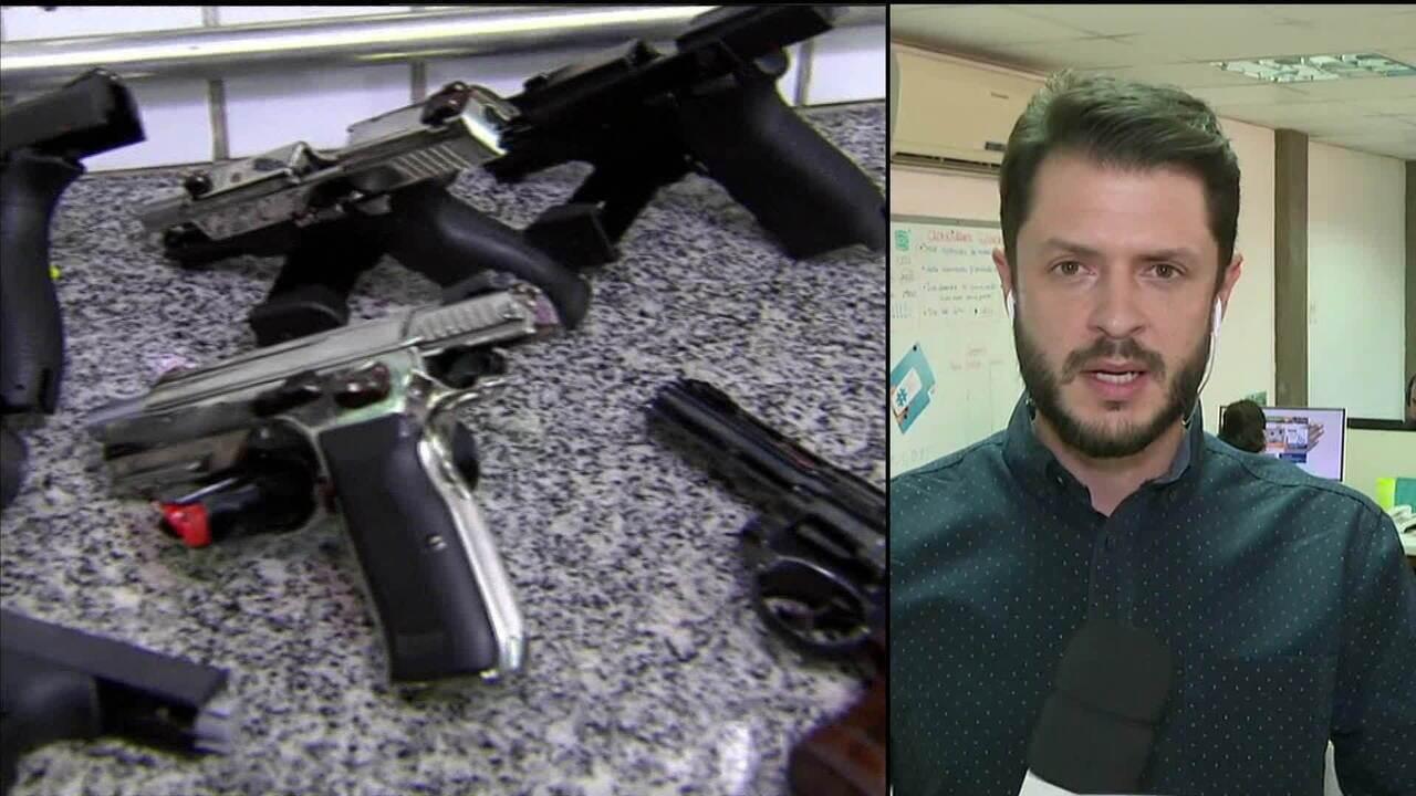 São Paulo é o estado com maior número de registros de armas no país