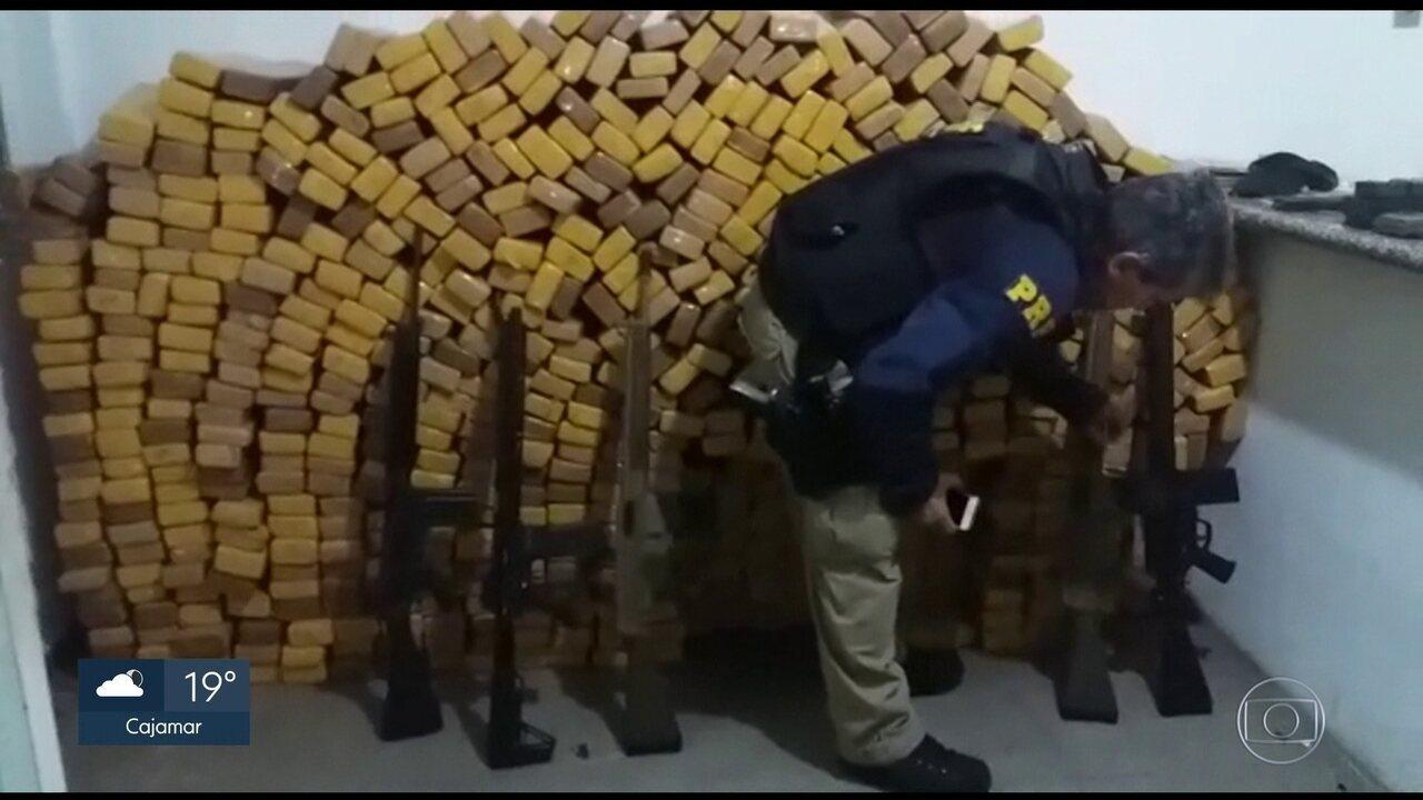 Apreensão de armas nas rodovias federais que cortam São Paulo aumentam mais de 200%