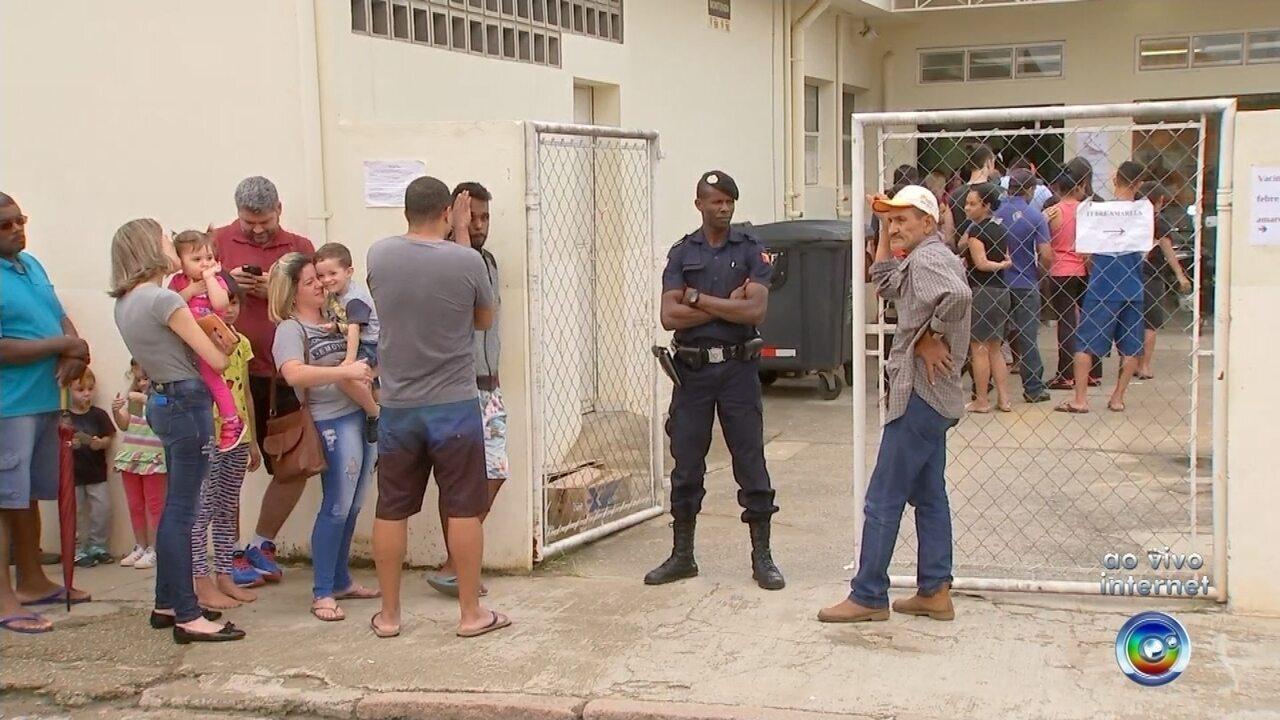 UBS de Aparecidinha oferece vacina contra a febre amarela em Sorocaba
