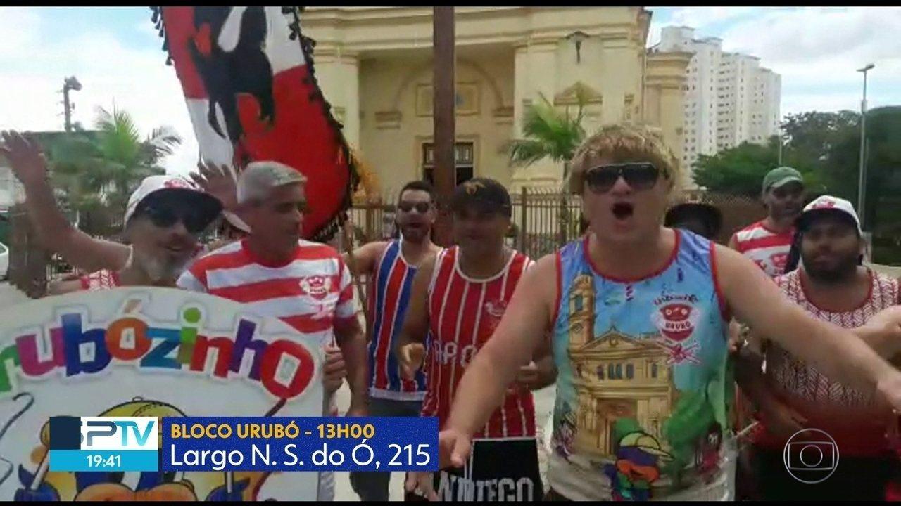 Blocos de carnaval tomas as ruas de São Paulo neste final de semana
